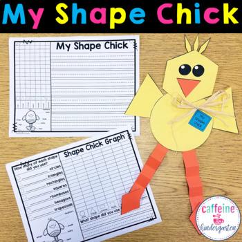 Shape Chick - Easter Math Craft