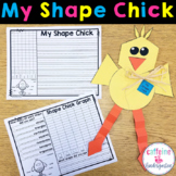 Shape Chick - Easter Math Craft