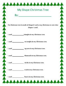 Shape Christmas Tree