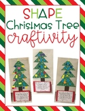 Shape Christmas Tree Craftivity