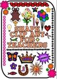 Shape Clip Art for Teachers