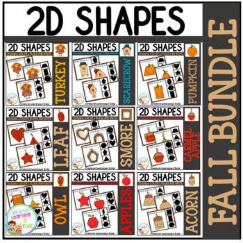 Shape Clip Card Bundle: Fall