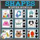 Shape Clip Card Bundle: Winter