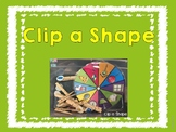 Shape Clip Card Freebie
