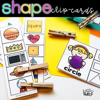 Shape Clip-Cards