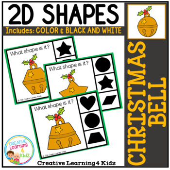 Shape Clip Cards: Christmas Bell