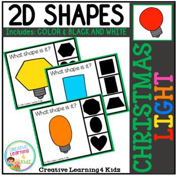 Shape Clip Cards: Christmas Light