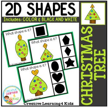 Shape Clip Cards: Christmas Tree