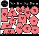Shapes Clipart / Valentine's Day Shapes