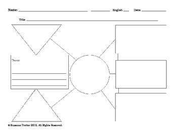 Shape-Coded 5 Paragraph Essay PreWrite Form