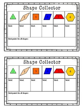 Shape Collector: A Geometry Game