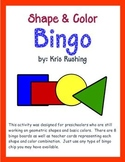 Shape - Color Bingo