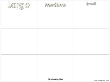 Autistic Friendly Shape & Color Matching, Size Sorting, PreK-K