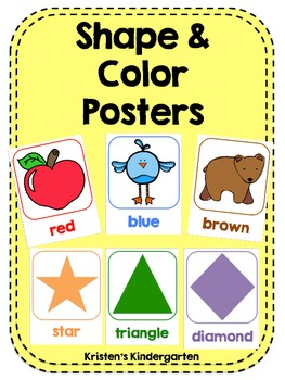 Shape & Color Posters