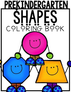 Shape Coloring Book