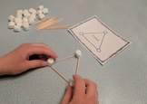 Shape Construction with Marshmallows and Toothpicks