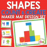 Shape & Counting Activity for Preschool and Pre-k | Shape Maker Mats