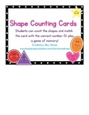 Shape Counting Cards