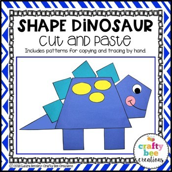 Shape Craft {Dinosaur}