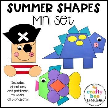 Shape Craft Mini Bundle {Summer}