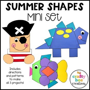 Shape Craft Mini Bundle {Summer}