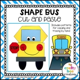 Shape Craft {School Bus}