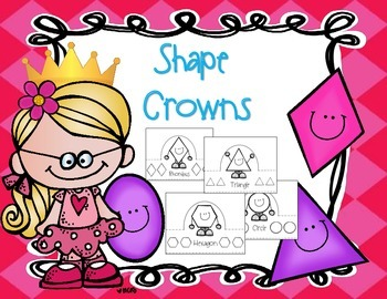 Shape Crowns! A Cute Way To Review Shapes