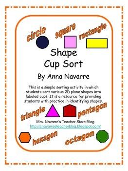 Shape Cup Sort
