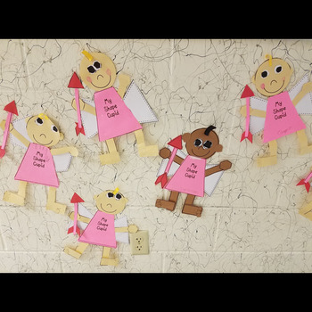 Shape Cupid -Valentine's Day Math Craft