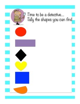 Shape Detective, Exploring 2D Shapes in the classroom