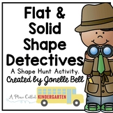 Shape Detectives (flat and solid shape hunt)