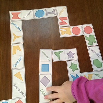Shapes - Dominoes Game