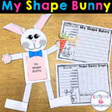 Shape Easter Bunny - Math Craft