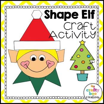 Shape Elf Cut and Paste