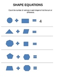 Shape Equations: Addition and Subtraction