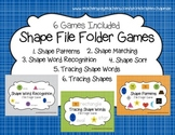 Shape File Folder Games