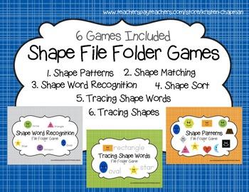 Shape File Folder Games