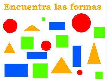 Shape Find Flipchart (Spanish)