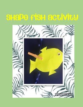 Shape Fish Printable