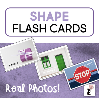 Shape Flash Cards - Real Photos!