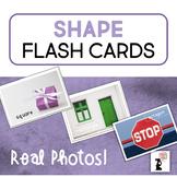 Shape Flash Cards - Real Photos!