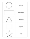 Shape Flashcards English