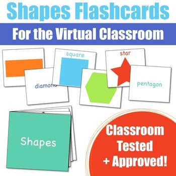Shape Flashcards for the Virtual ESL Classroom - Virtual Classroom Props