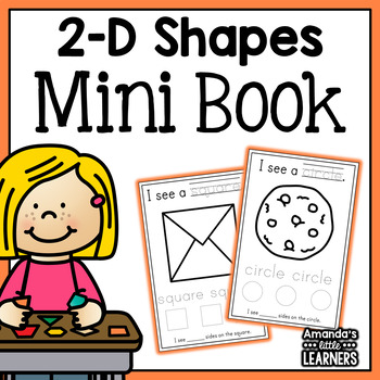 Shapes Mini Book - 2D Real World Shapes