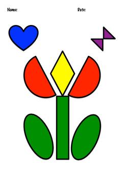 Shape Flower Colour