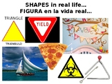 Shape & Form Art Elements PowerPoint with Two Project Ideas in Eng & Esp