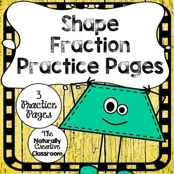 Shape Fraction Sheets