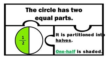 Shape Fractions Equal Parts Manipulatives