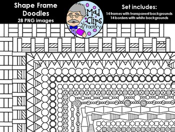 Shape Frame Doodles