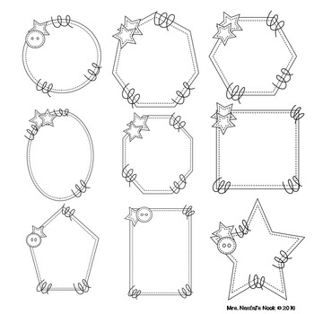Shape Frames Clip Art